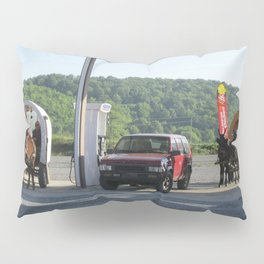 Horse & Buggies need fuel to Pillow Sham