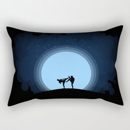 Night fight Rectangular Pillow