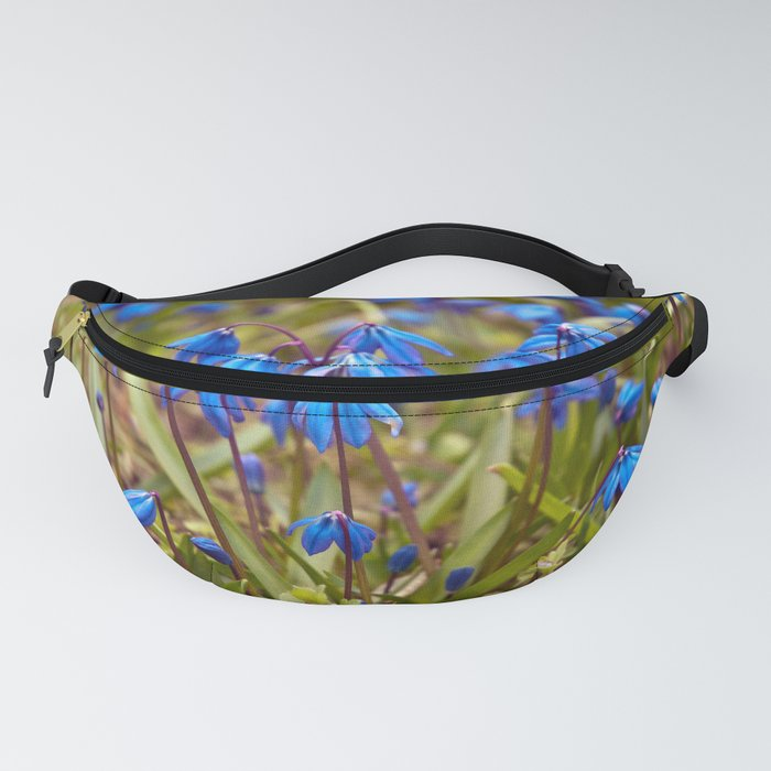 BLUE SOUND of SPRING Fanny Pack