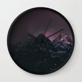 Tetonic Wall Clock