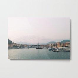 Port of Nice Metal Print