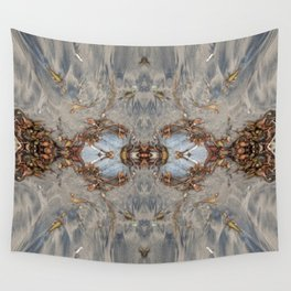 Two Decorated Hearts (Mandalaesque #41c) Wall Tapestry