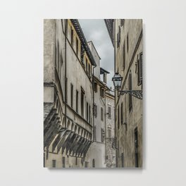 Houses at Historic Center of Florence, Italy Metal Print