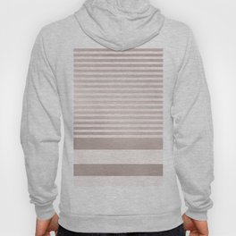 Rose Gold and Pink Stripes Mix Pattern Hoody