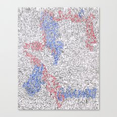 Schematics of a Doomsday Device 4 Canvas Print