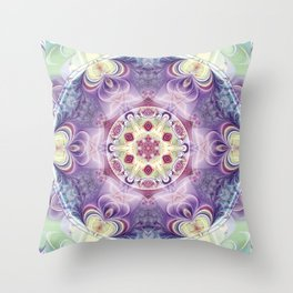 Mandalas from the Heart of Freedom 18 Throw Pillow