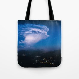 The Sky Exploded Tote Bag