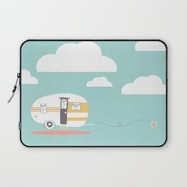 Lets See Really Cool Stuff Together Airstream Art Laptop Sleeve