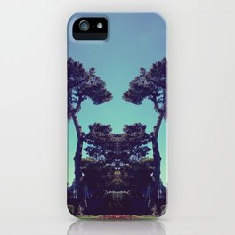 ink blot tree  iPhone Case