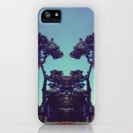 ink blot tree  iPhone Case