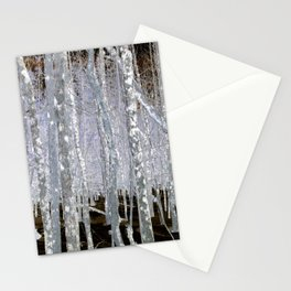 Winter Trees | Forest | Woods | Fantasy | Nadia Bonello | Canada Stationery Cards