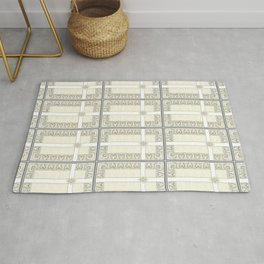 Lace Cross Rug