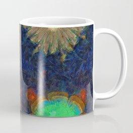 Unijugous Threadbare Flowers  ID:16165-010211-80730 Coffee Mug