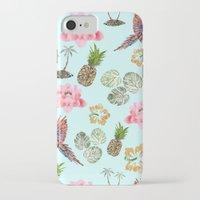 hawaiian iPhone & iPod Cases featuring Hawaiian by Christopher Bennett