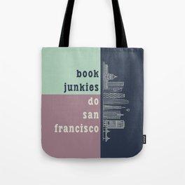 Book Junkies do San Francisco Tote Bag