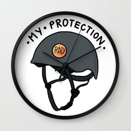 My Protection Wall Clock