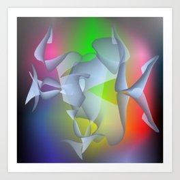 Brainwave Art Print