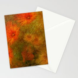 """Golden Manila Flowers"" Stationery Cards"