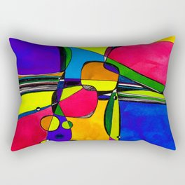 Magical Thinking No. 8A by Kathy Morton Stanion Rectangular Pillow
