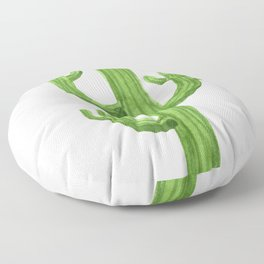 Cactus One Floor Pillow