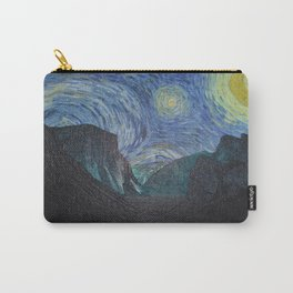 Vincent Van Gogh's Starry Night Over Yosemite National Park Carry-All Pouch