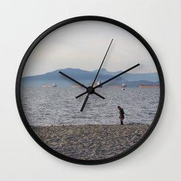 Kits Beach 1 Wall Clock