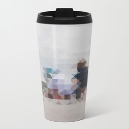Beach Metal Travel Mug