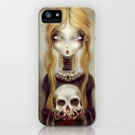 Black Widow by Élian Black'Mor iPhone Case