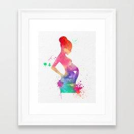 New Mom 009 Framed Art Print