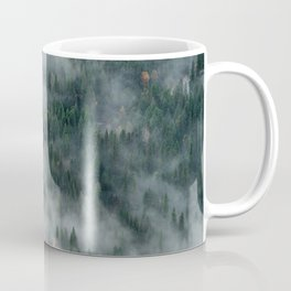 Foggy Yosemite Forest Coffee Mug