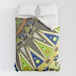 Ethnic tribal ornament 3 Comforters
