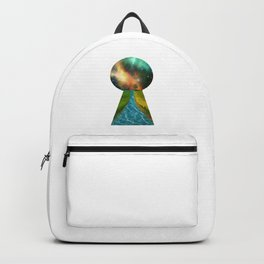 Another World Through a Keyhole Backpack