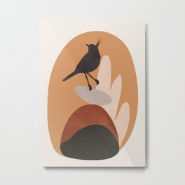 Cute Little Bird I Metal Print