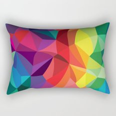Color Shards Rectangular Pillow