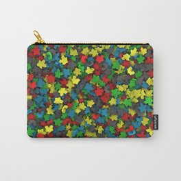 Varicoloured meeples Carry-All Pouch