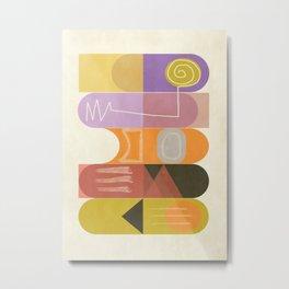 Modern Totem 2  #Society6 #buyart #decor Metal Print