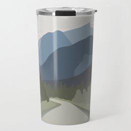 The Mountain Road II Travel Mug