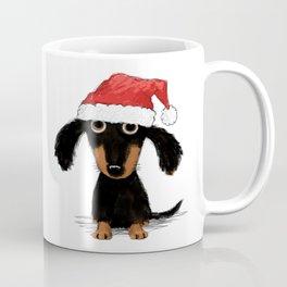 Dachshund Santa Clause | Wiener Dog Christmas Coffee Mug