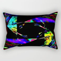 feedback pinwheel Rectangular Pillow