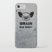 political iPhone & iPod Cases featuring Getting Political by Cowabunga