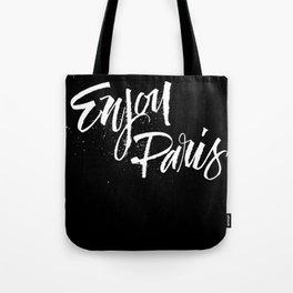 Enjoy Paris Tote Bag