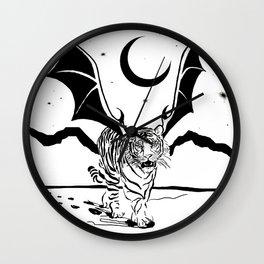 Flying Tiger Wall Clock