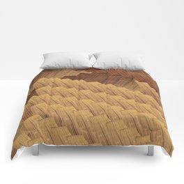 Falling down Comforters