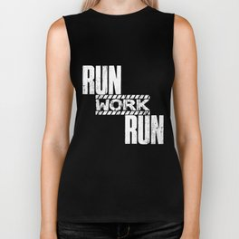 Running Saying | Runner Sports Jogger Work Run Biker Tank