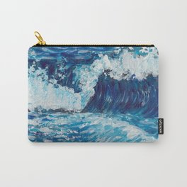 Crest of a Wave Carry-All Pouch