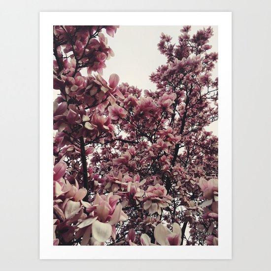 Springing Art Print