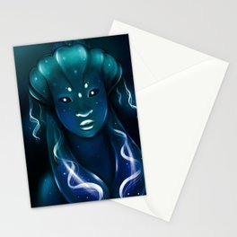 Jellyfish Queen Stationery Cards