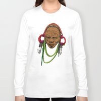 africa Long Sleeve T-shirts featuring AFRICA by ZE-DESIGN