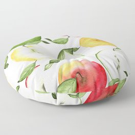 How Ya Like Them Apples Floor Pillow