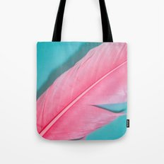 PINK FEATHER 2 Tote Bag